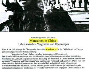 Menschen in China