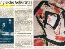 Arthur Lamka - Artikel Allgäuer Zeitung