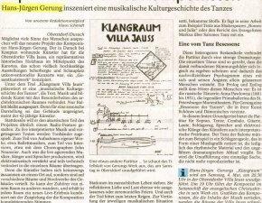 Hans-Jürgen Gerung: Artikel in der Allgäuer Zeitung