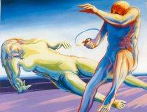 Ausstellung Franz Meier: Atelier morgen 1986