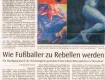Franz Meier: Artikel in der Allgäuer Zeitung