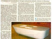 Klasse Ullman: Artikel in der Allgäuer Zeitung