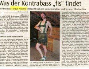 Markus Noichl: Artikel in der Allgäuer Zeitung