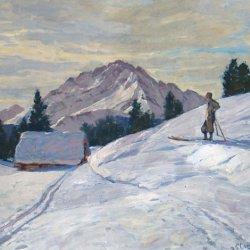 Robert Franz Curry - Winterlandschaft