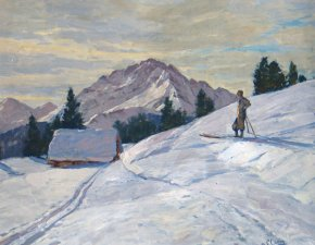 Robert Franz Curry - Winterlandschaft