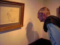 Betrachter von Daumier