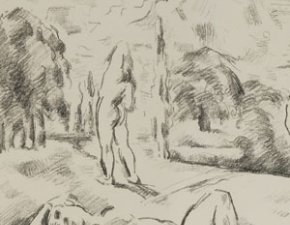 Wege zur Moderne: Cezanne les baigneurs 1898