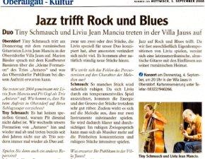 AZ-Interview Tiny Schmauch - Jazz trifft Rock und Jazz-Kunsthaus Villa Jauss Oberstdorf-0309
