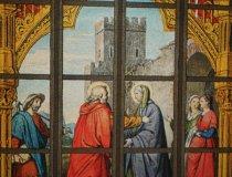Joseph Anton Fischer: Glasbild