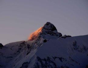 Winfried Egger, Trettachspitze in der Morgensonne