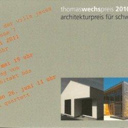 Thomaswechspreis 2010