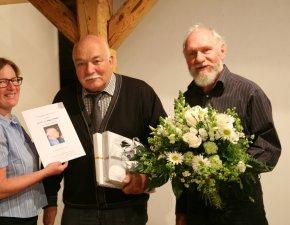 Angelika Blüml, Dr. Wolfgang Nettesheim und Wilhelm Geierstanger, Foto: Rudolf Schnellbach