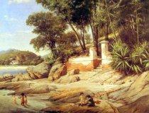Georg Grimm, Landzunge in Niteroi