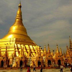 Swe-Dagon-Pagode in Yangoon/Myanmar