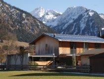 Moderner Holzbau in Oberstdorf