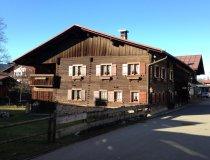 traditionelles Bauernhaus in Oberstdorf