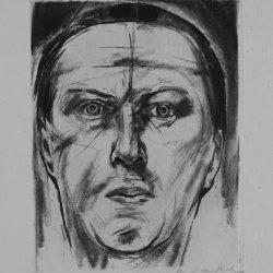 Willy Jaeckel, Selbstporträt