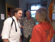 von links: Hans-Jürgen Burkard (sternFotograf), Thomas Höpker, Heinz Zak