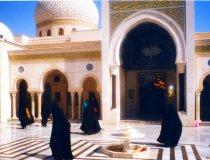 Arno Pürschel, Moschee in Damaskus