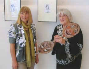 Eva Schroer und Annemarie Augsten