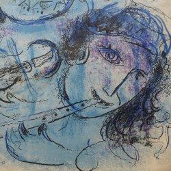 Marc Chagall, Der Flötenspieler