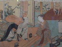 Suzuki Harunobu, Belauschtes Liebespaar