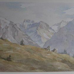 Otto Sieber, Oberstdorfer Berge