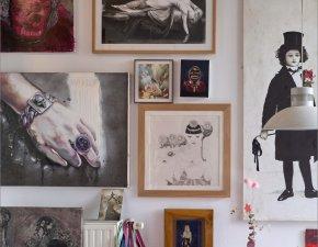 Wohnung eines Kunstsammlers 2019, © Achim Kukulies