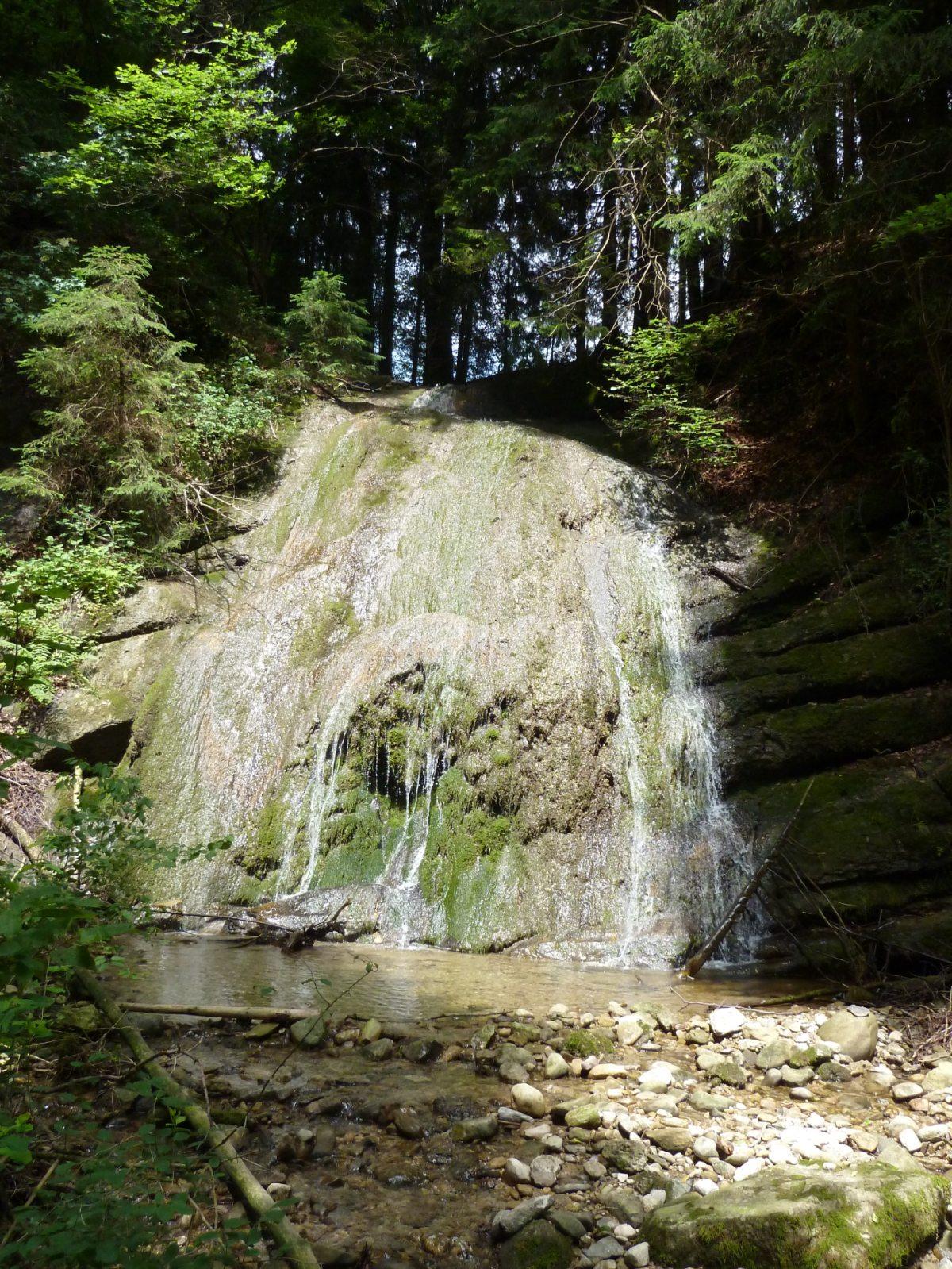 Kleiner Wasserfall (auf dem Naturlehrpfad)