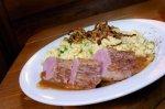 DER Hütten-Klassiker! Allgäuer Kässpatzen mit saftigen Schweinemedaillons