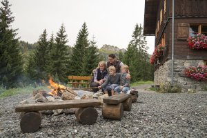 Familienurlaub auf der Allgäuer Berghütte bei Oberstdorf