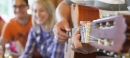zünftige Live-Musik zum Allgäuer Hüttenabend