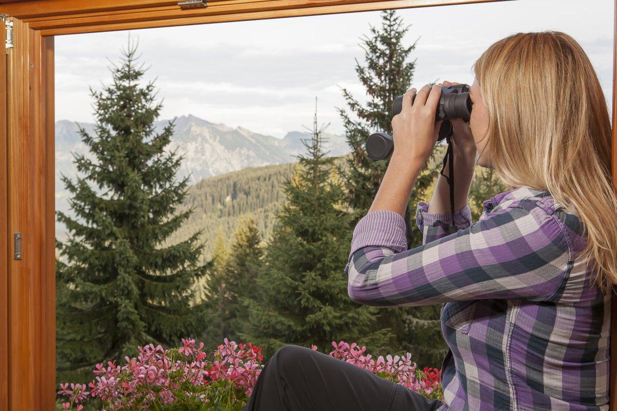 Traumhaftes Bergpanorama von der Wannenkopfhütte aus genießen