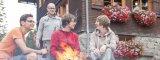 knisterndes Lagerfeuer und Hüttengaudi auf der Allgäuer Berghütte