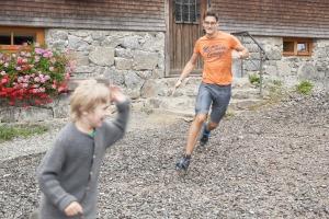 Familienurlaub auf der Berghütte mitten in der Natur