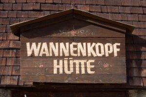Wannenkopfhütte bei Oberstdorf