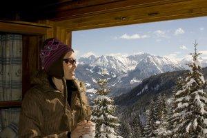Traumhafte Aussicht auf die Allgäuer Alpen