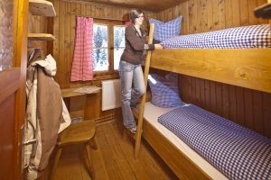 uriges Zweibettzimmer