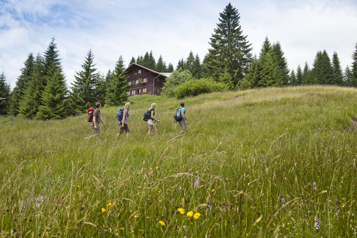 Urlaub auf der Allgäuer Berghütte