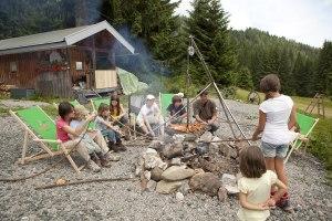 Familiensommer auf der Wannenkopfhütte