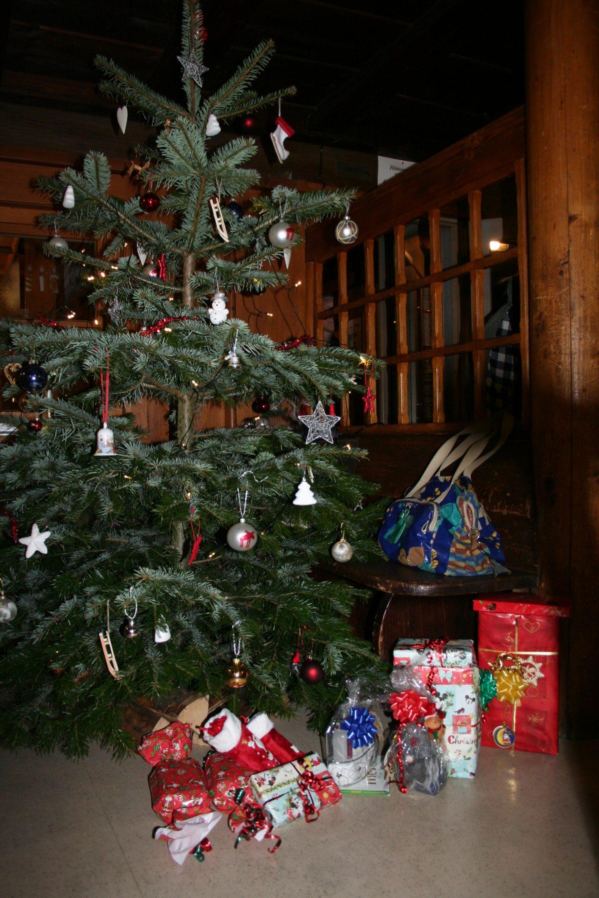 Weihnachts- und Silvestertage auf der Wannenkopfhütte