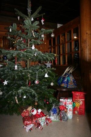 Viele Geschenke unter´m Weihnachtsbaum