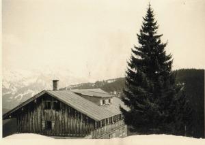 Wannenkopfhütte von außen