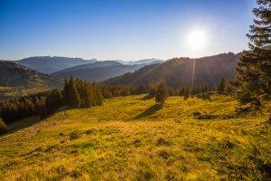 Sonnenuntergang am Wannenkopf