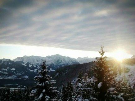 Sonnenaufgang am Wannenkopf
