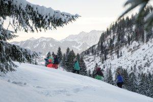 Gemeinsames Wintervergnügen
