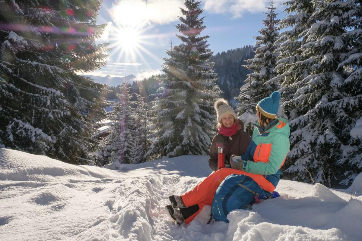 Sonne und Schnee - manchmal braucht's einfach nicht mehr!