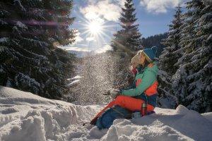 Eine traumhafte Winterlandschaft