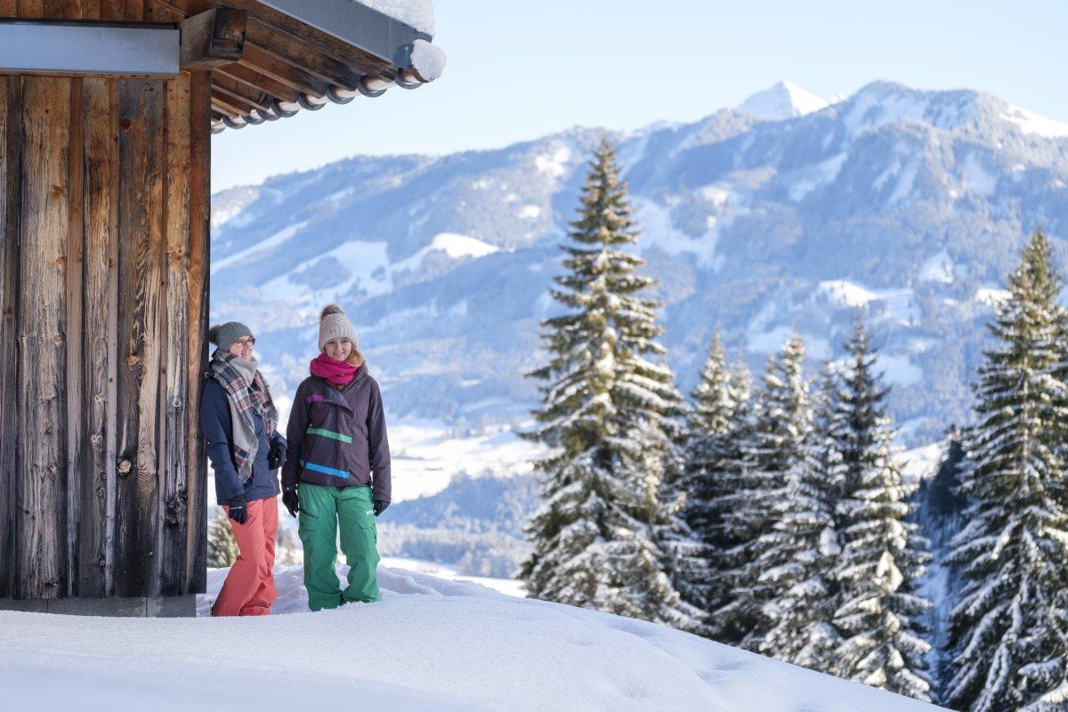 Genieße den Winter im Allgäu!