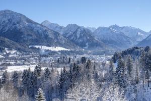 Panoramablick über Oberstdorf
